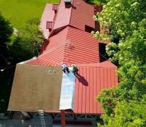 metal roof installation process